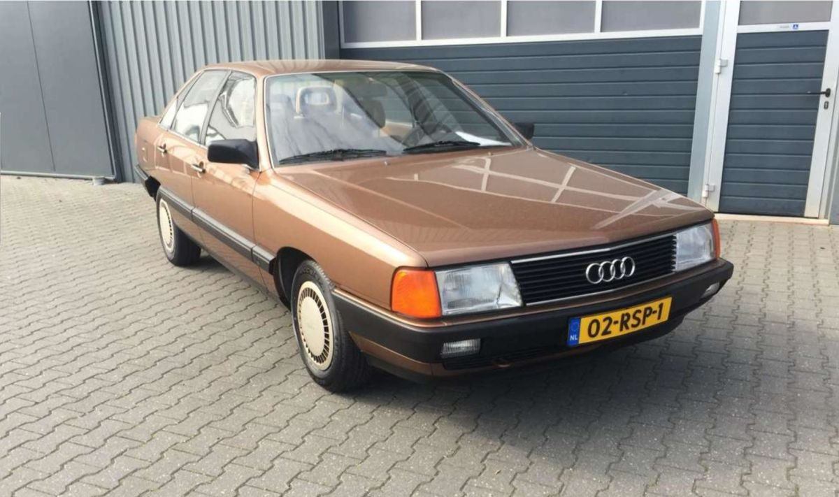 Audi 100 1984   Carsconnect